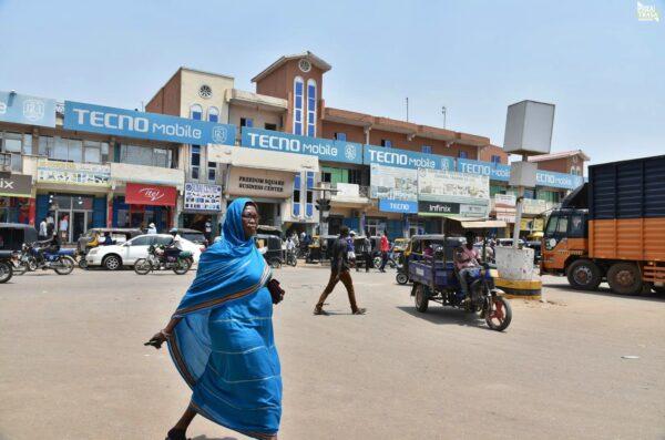 Miasto Juba Sudan Południowy 2021