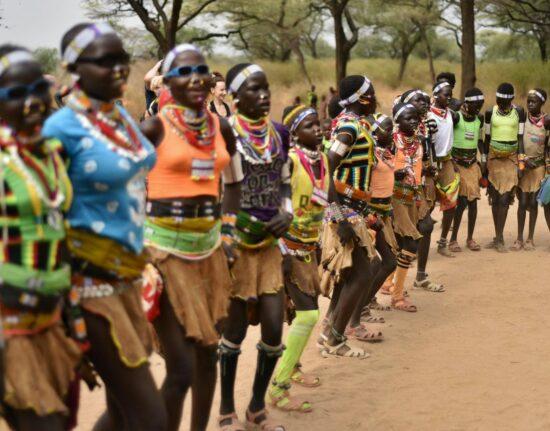 Tańce Boya w Sudanie Południowym 2021