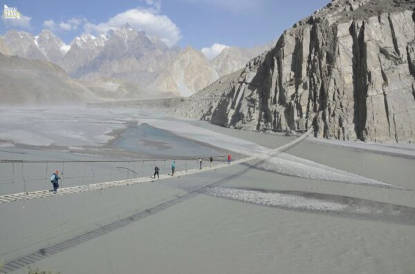 Suspension Bridge Pakistan 2020