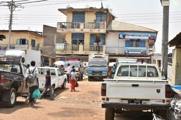 Miasto Juba Sudan Południowy 2021 Wyprawa do Sudanu Południowego
