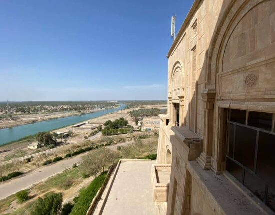 Pałac Saddam Hussain Babilon