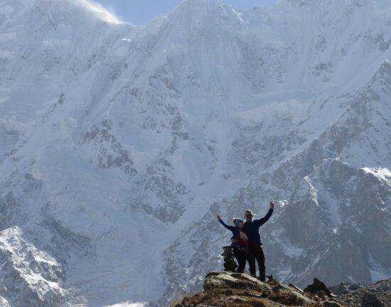 Pakistan zima Karakorum Beyal BC - Nanga Parbat BC Pakistan 2020
