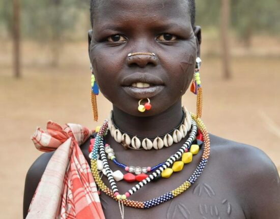Portrety Lotuko i Boya Sudan Południowy 2021