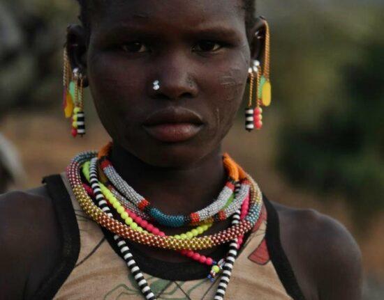 Portrety Lotuko i Boya w Sudanie Południowym 2021