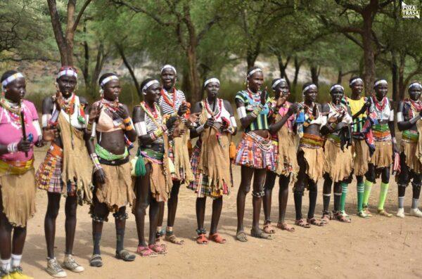 Tańce Boya Sudan Południowy 2021 Wyprawa do Sudanu Południowego