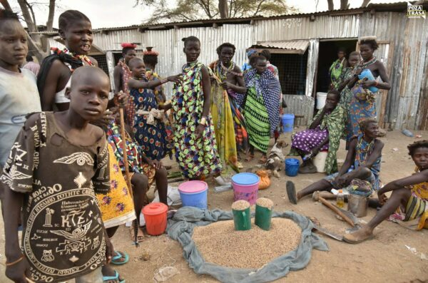 Miasteczka Sudanu Południowego 2021