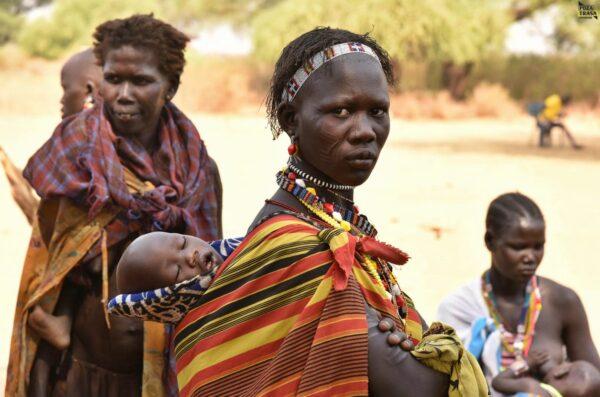 Matki z dziećmi Sudan Południowy 2021