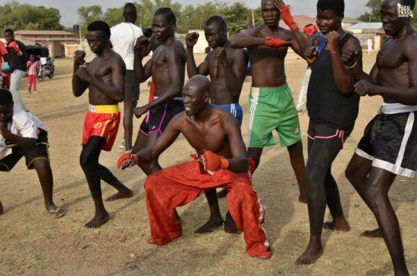 Sportowcy z Juba Sudan Południowy 2021