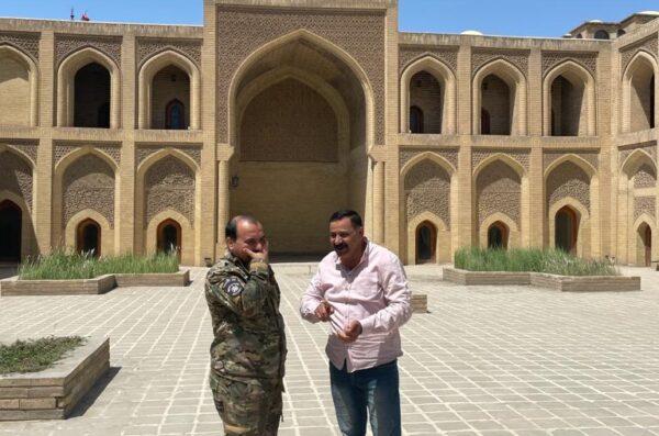 Irak wyjazd