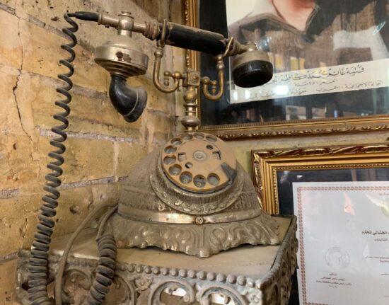 słynna kawiarnia w Starym Bagdadzie