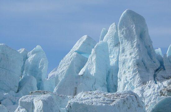 Kenai na Alasce lodowiec