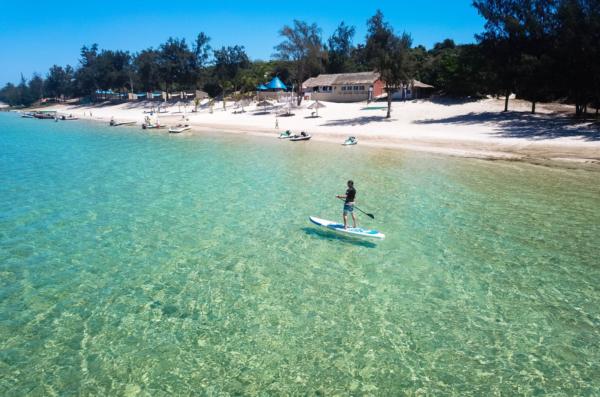 plaża Mozambik