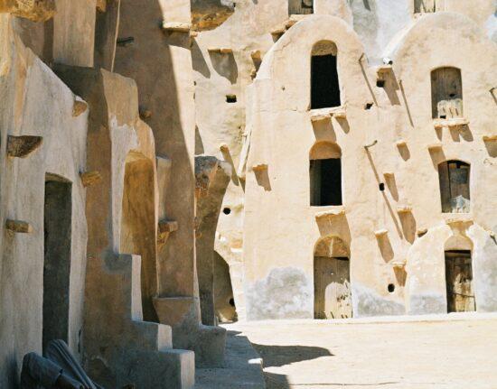 ksar spichlerz sahara w libii