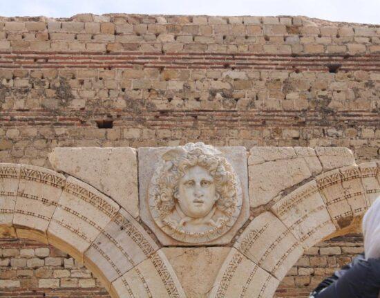 Leptis magna w Libii