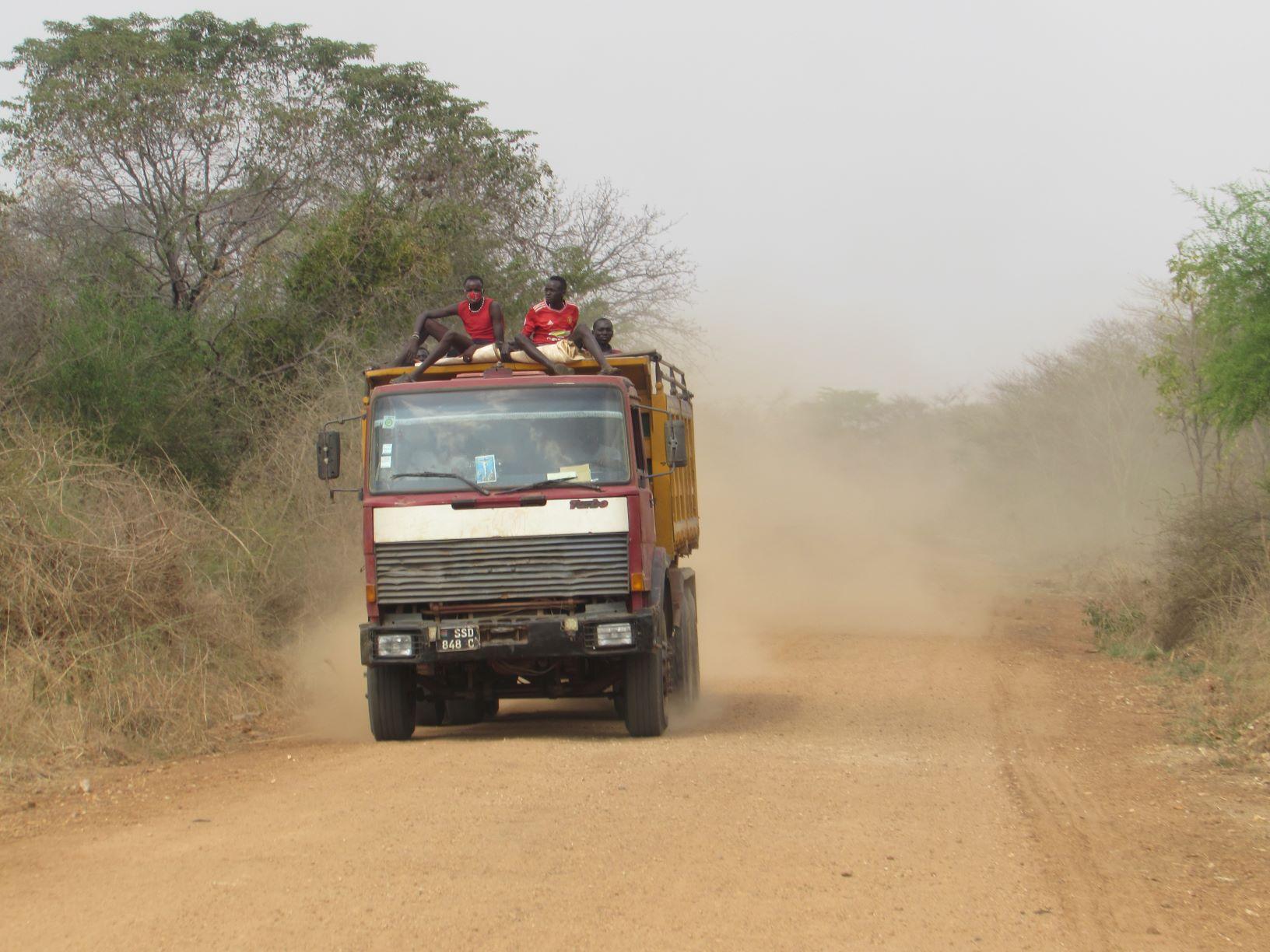 Sudan Płd z punktu widzenia kierowcy zawodowego