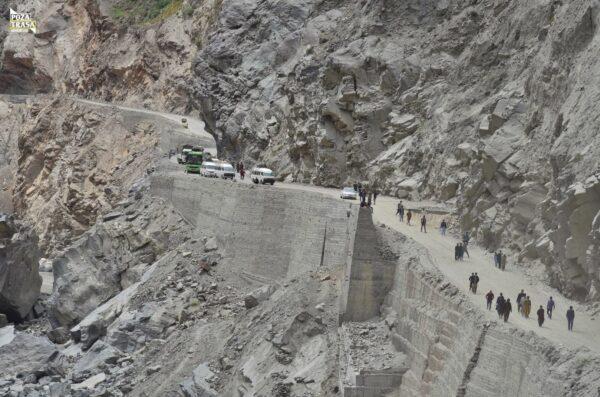 Droga do Skardu Pakistan maj 2021