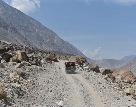 Do Fairy Meadows jeep Pakistan maj 2021