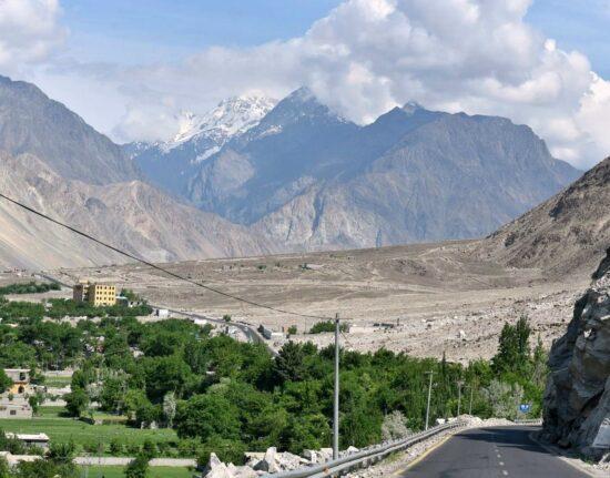 Karakorum Highway Pakistan maj 2021