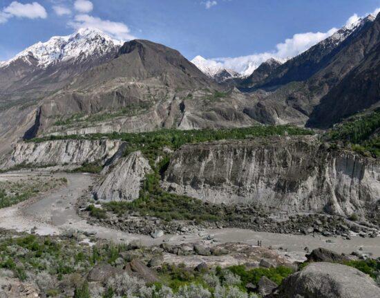 Droga do Doliny Hoper Pakistan maj 2021