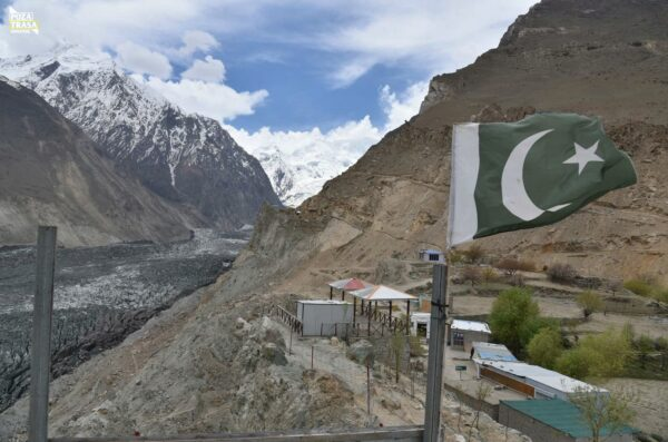 Hoper Lodowiec Pakistan maj 2021