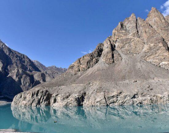 Jeziora Satpara Kaczura Attabad Pakistan maj 2021