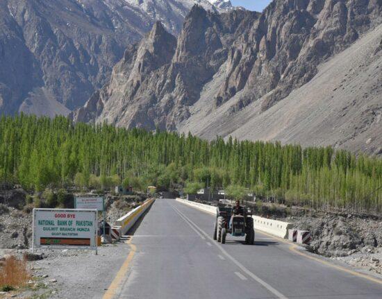 Pakistan SELF-DRIVE Karakorum Highway Gulmit Passu Pakistan maj 2021