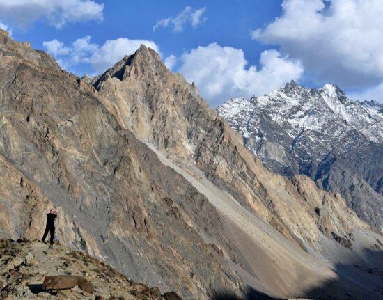 Górskie spacery Pakistan maj 2021