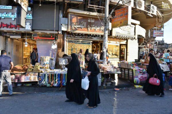 Bagdad zabytki Irak 2021