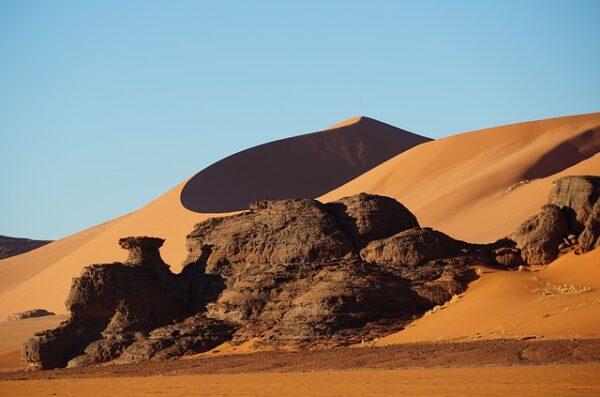 Niger Pustynia Tenere góry Air